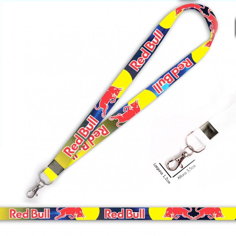 Cordão Red Bull Racing C0536P com Mosquete
