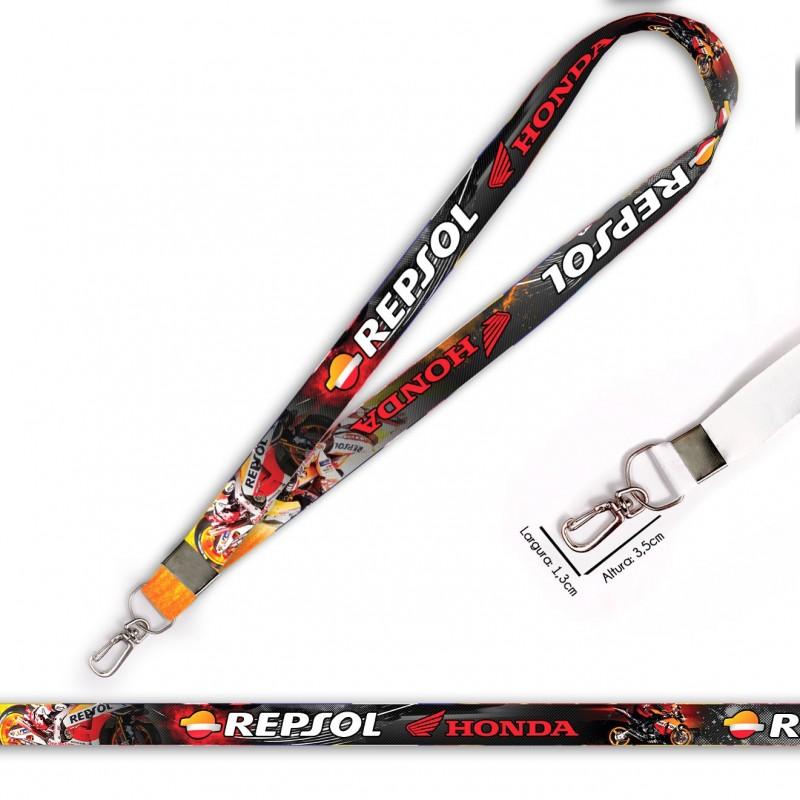 Cordão Honda Repsol C0537P com Mosquete Retrô