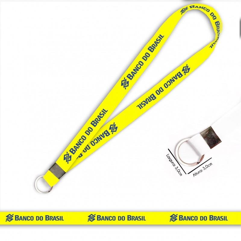 Cordão Banco do Brasil C0539P com Argola Italiana