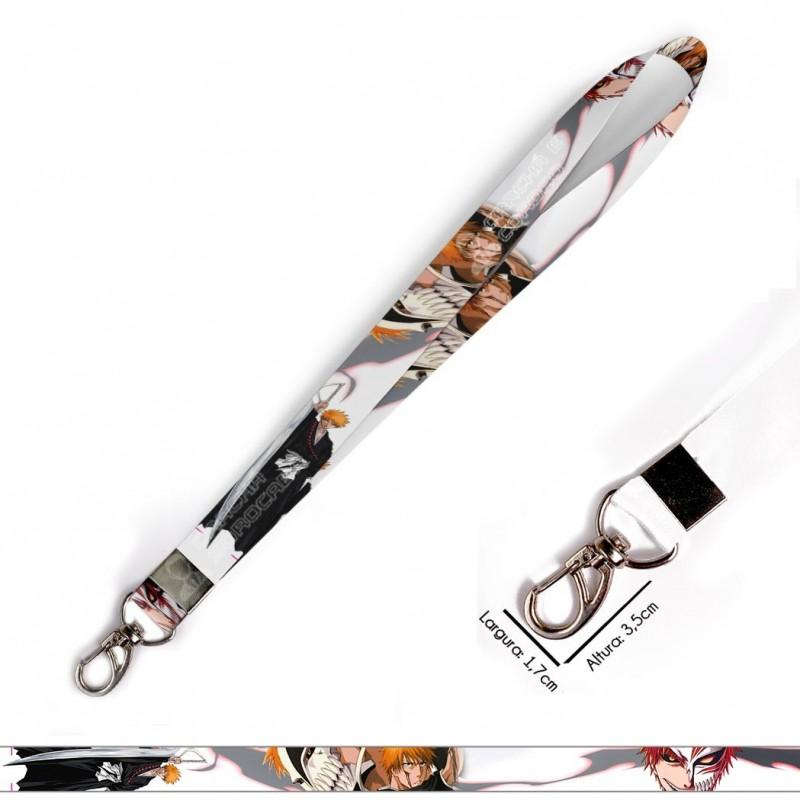Cordão para Crachá ou Chaveiro Yamaha MT 09 C0538P com Mosquetão e Fecho Bolsa (Engate Rápido)