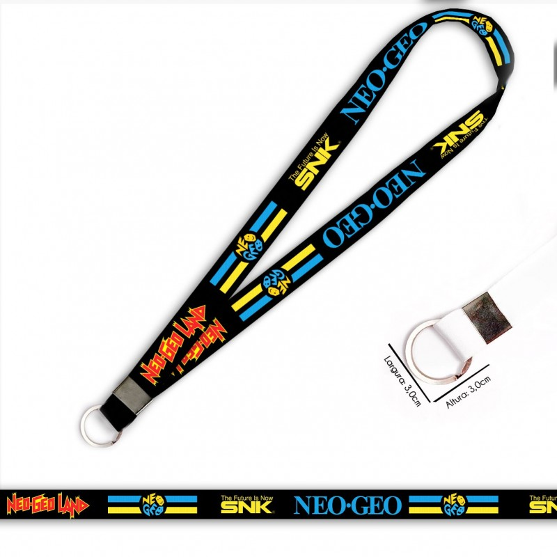 Cordão Neo Geo The Future SNK C0549P com Argola Italiana
