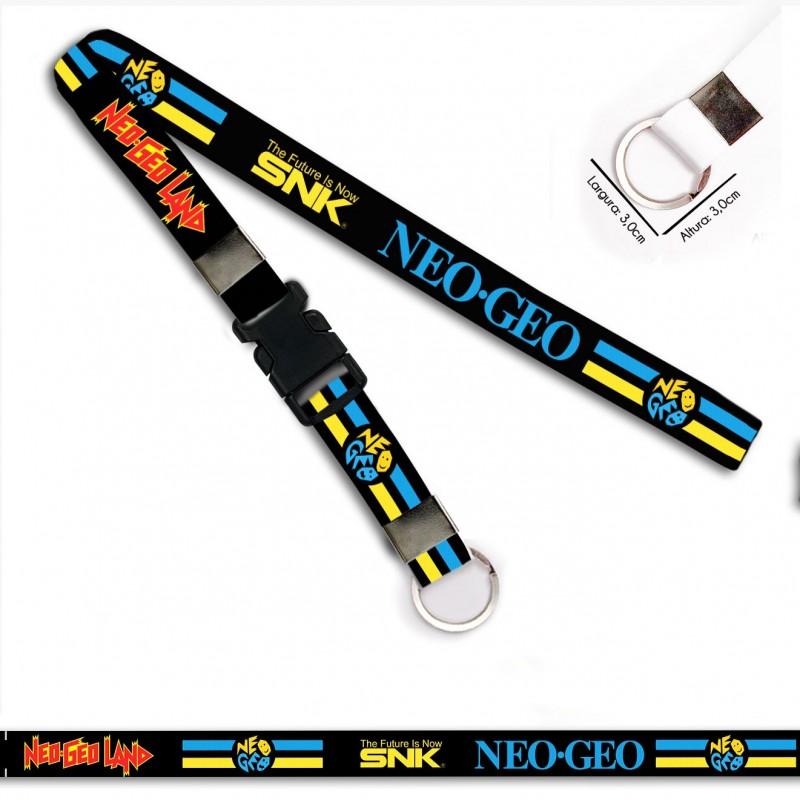 Chaveiro para Moto Neo Geo The Future SNK C0549P Argola Italiana Engate