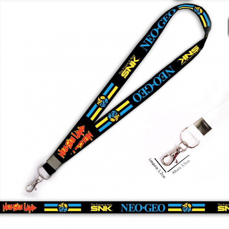 Cordão Neo Geo The Future SNK C0549P com Mosquete