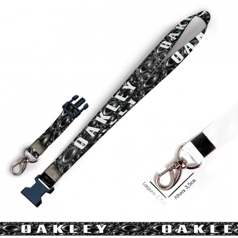 Chaveiro oakley C0550P com Mosquetão e Engate Rápido
