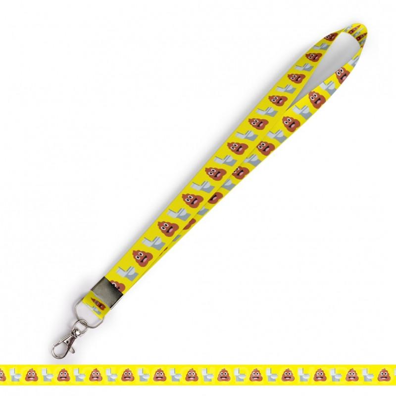 Cordão Cordão Divertido Cocô Vaso Emoticons C0551P Mosquete