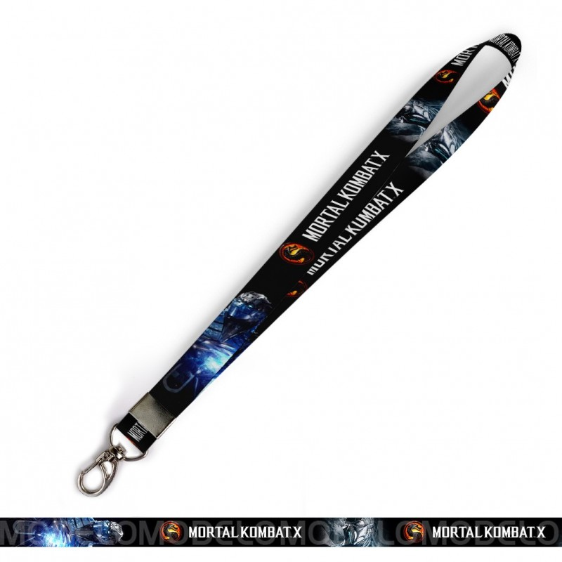 Cordão para Crachá ou Chaveiro Harry Potter Animais Fantasticos C0050P com Mosquete Giratório