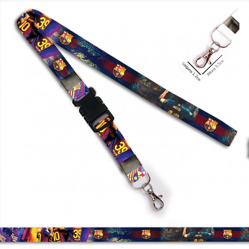 Cordão para Crachá ou Chaveiro Harry Potter Plataforma 3 e 1 4 C0052P com Mosquete Giratório