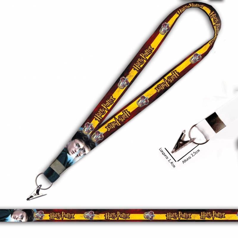 Harry Potter Grifinoria C0105P Cordão com Jacaré