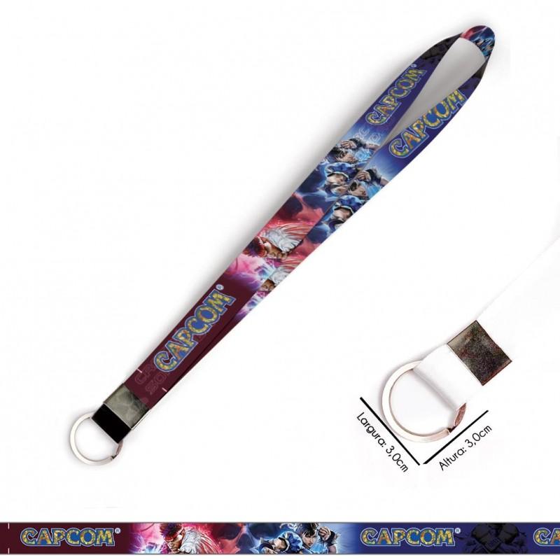 Cordão para Crachá ou Chaveiro Animaniacs C0148P com Mosquete Giratório
