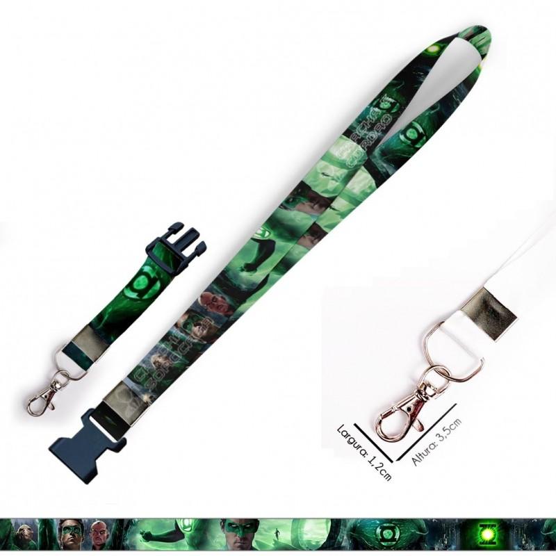 Chaveiro Lanterna Verde C0621P com Mosquete e Engate Rápido