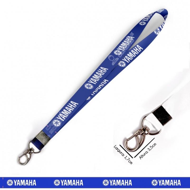 Cordão Yamaha - Azul C0628P com Mosquetão