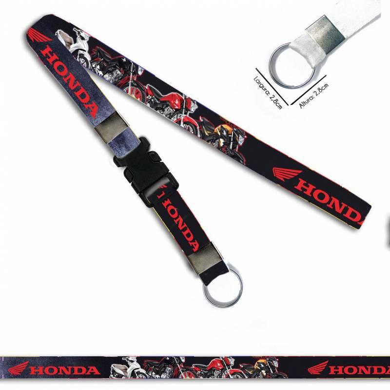 Honda Modelos Motos C0517P Cordão, Chaveiro Argola Engate