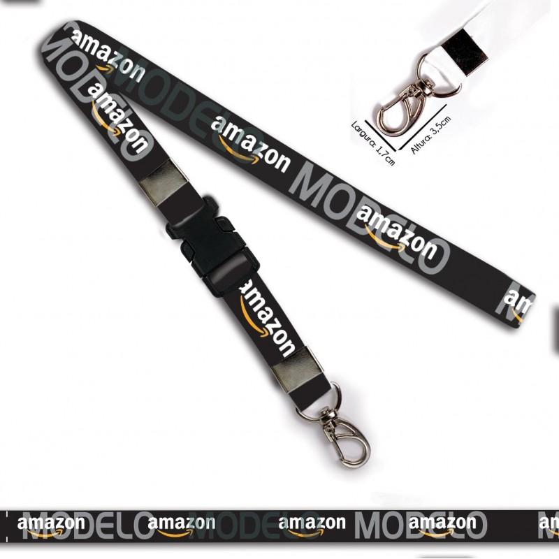 Chaveiro Amazon C0641P com Mosquetão e Engate Rápido