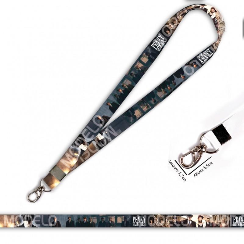Cordão para Crachá ou Chaveiro Princesa também usam Capacete C0566P com Mosquete Giratório