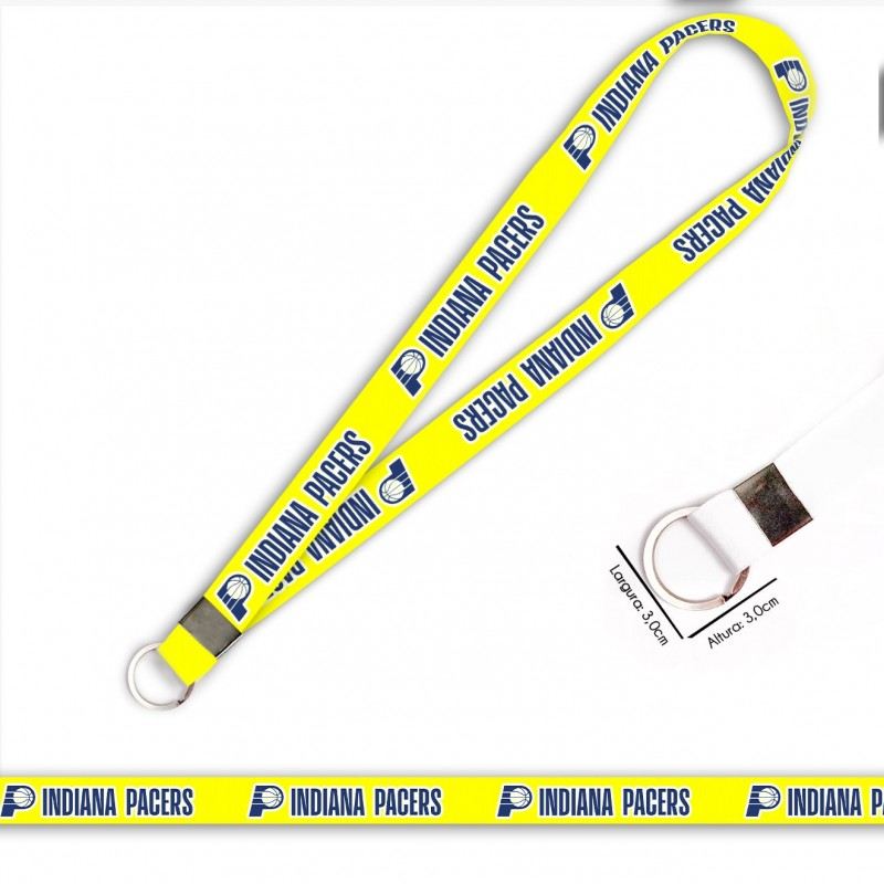 Cordão Indiana Pacers C0695P com Argola Italiana