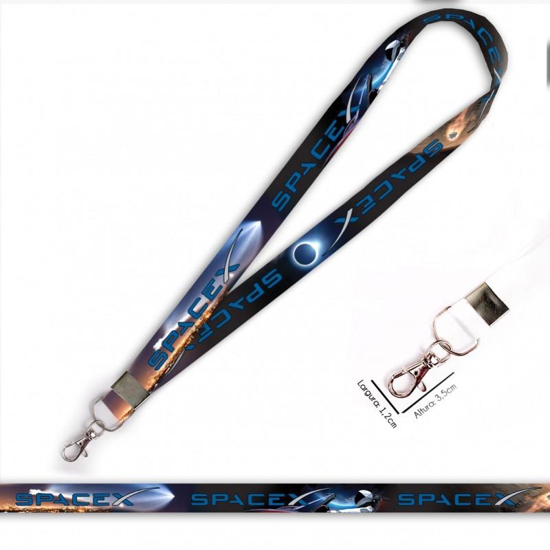 Cordão SPACE-X C0712P com Mosquete