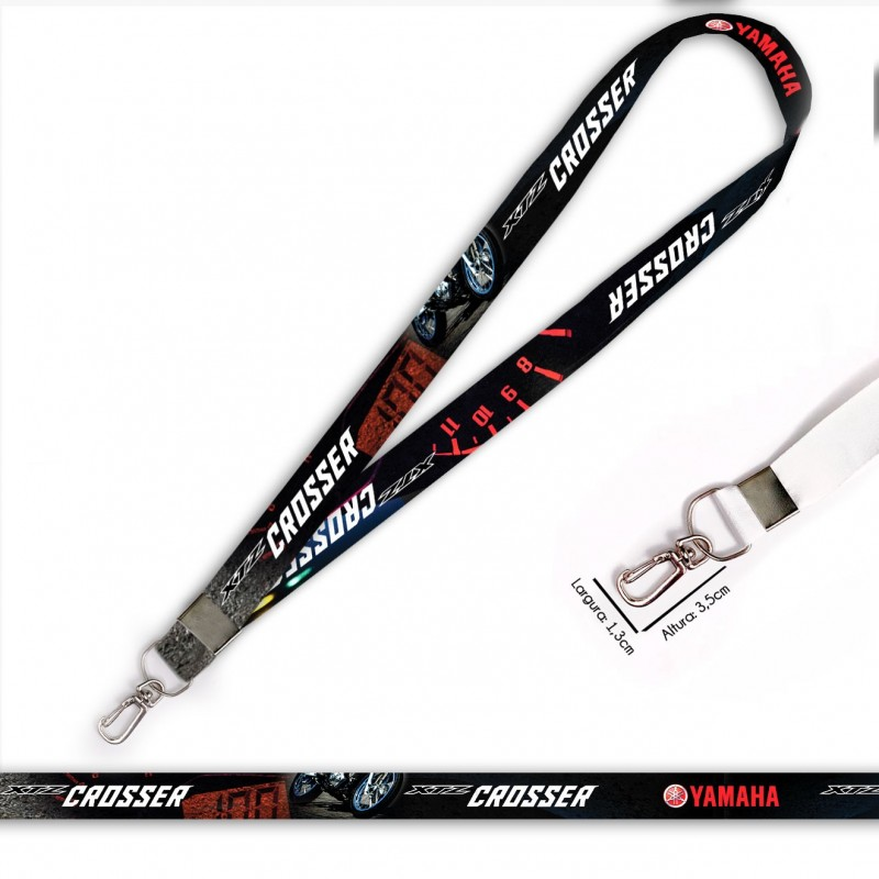 Cordão XTZ Crosser 150 C0716P com Mosquete Retrô