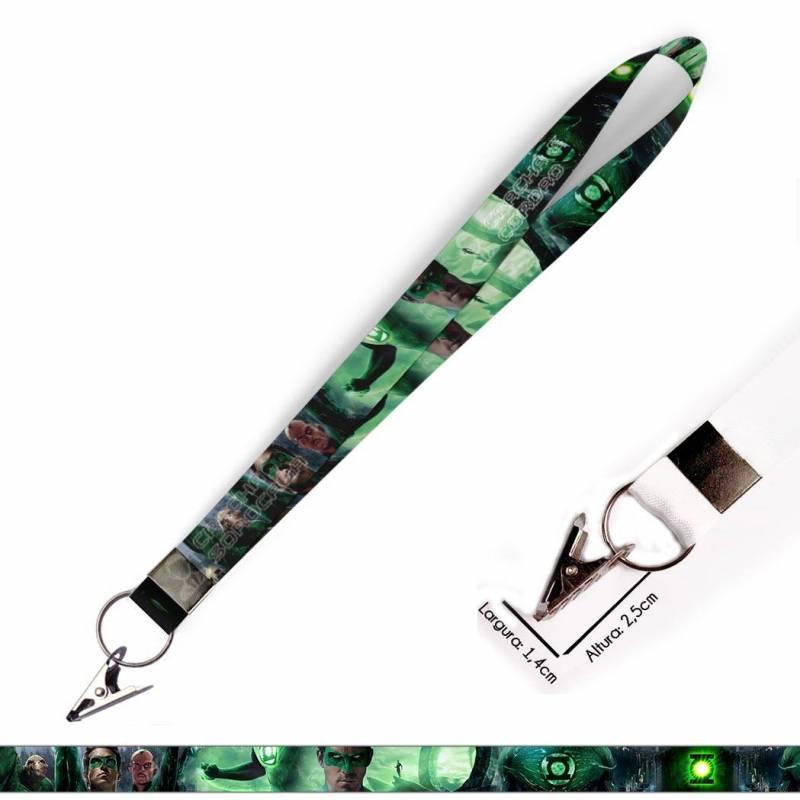 Lanterna Verde C0621P Cordão com Jacaré