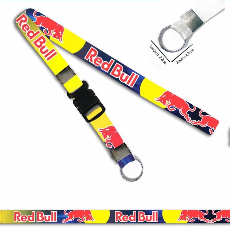Red Bull Racing C0536P Cordão, Chaveiro Moto Argola Engate