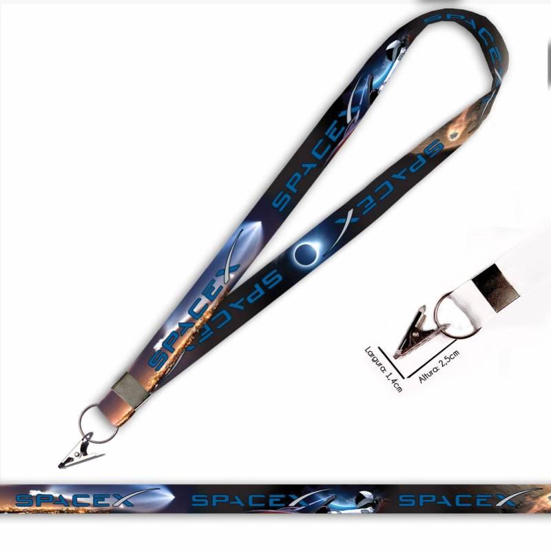 SPACE-X C0712P Cordão com Jacaré