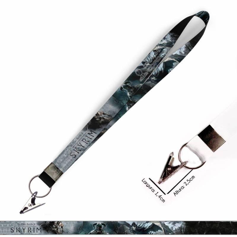 Cordão para Chaveiro ou Motos Harry Potter Hufflepuff C0100P com Argola Italiana Prata