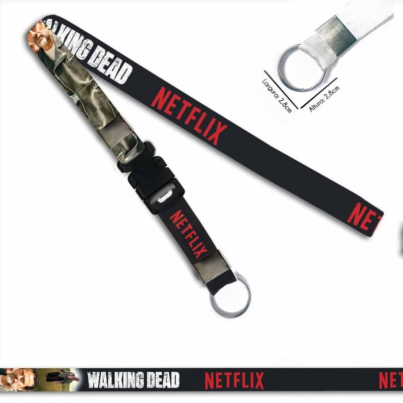 Walking Dead Negan C0088P Cordão, Chaveiro Argola Engate