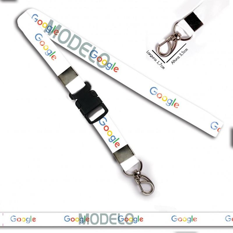 Cordão para Chaveiro ou Motos Nintendo C0434P com Argola Italiana Prata