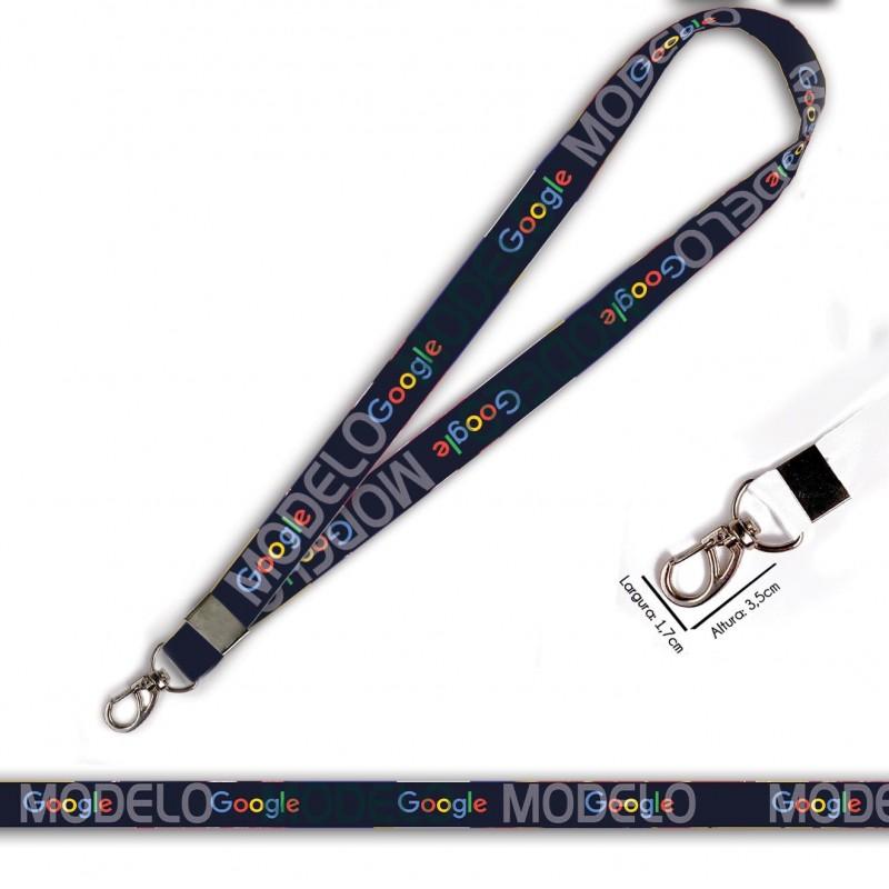 Cordão Google C0012P com Mosquetão