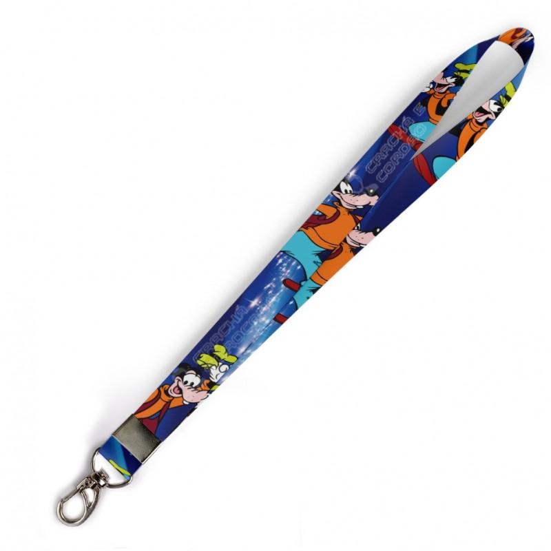 Cordão Pateta Disney C0022P com Mosquetão