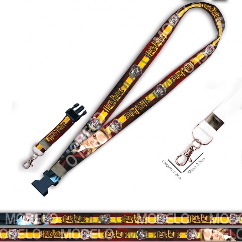 Cordão para Crachá Mickey C0004P com Garra Tipo Jacaré