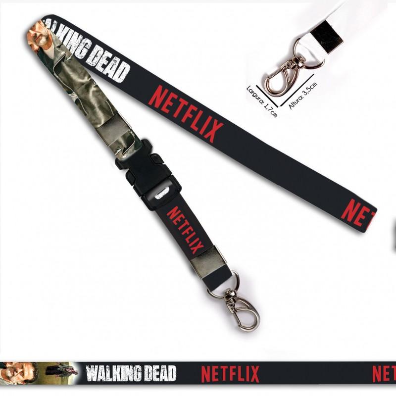 Chaveiro Walking Dead Negan C0088P com Mosquetão e Engate
