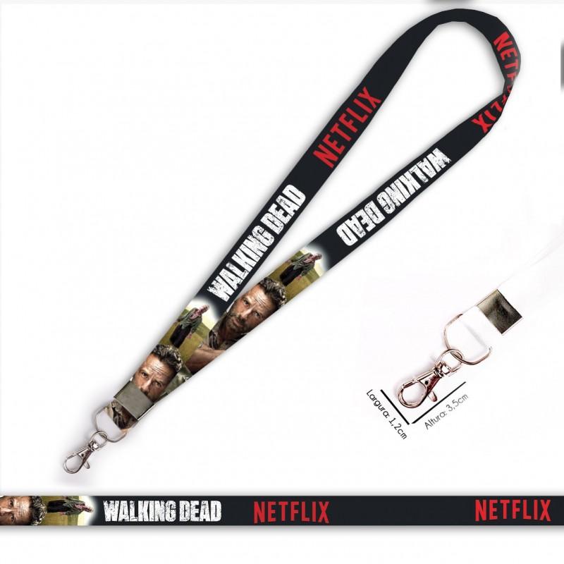 Cordão Walking Dead Rick C0090P com Mosquete