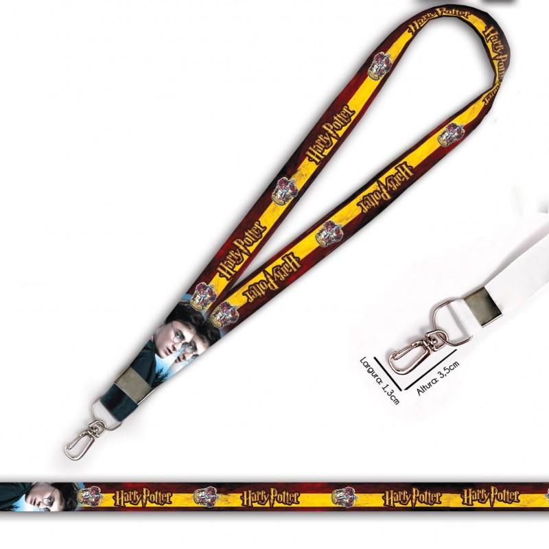 Cordão Harry Potter Grifinoria C0105P com Mosquete Retrô