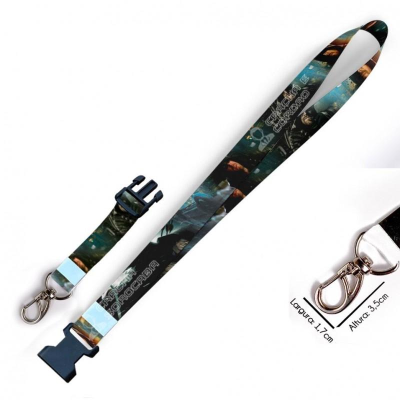 Chaveiro Arrow C0110P com Mosquetão e Engate Rápido