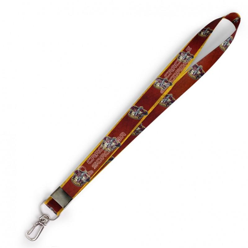 Cordão Harry Potter Grifinoria C0122P com Mosquete Retrô