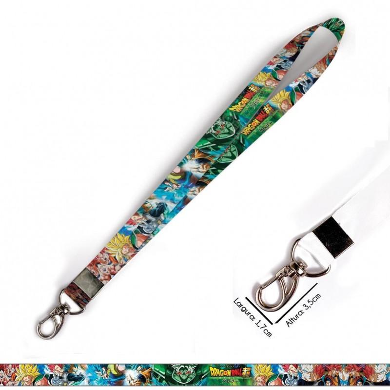 Cordão para Crachá Yoga C0187P com Garra Tipo Jacaré e fecho bolsa tipo Engate rápido