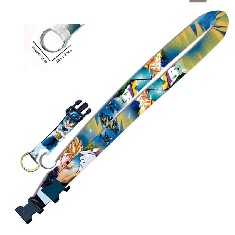 Cordão para Crachá ou Chaveiro Rapunzel Enrolados C0097P com Argola Italiana Prata