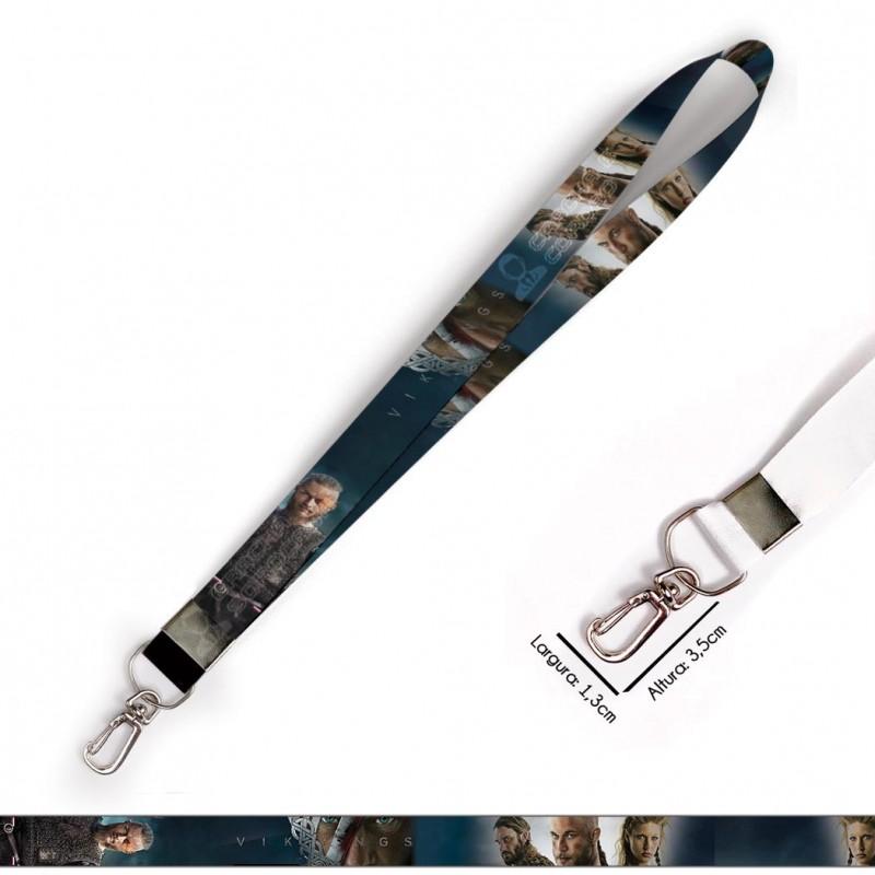 Cordão para Crachá ou Chaveiro Itachi Uchiha Naruto C0113P com Mosquetão