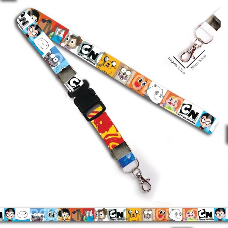 Chaveiro Cartoon Networks C0386P com Mosquete e Engate