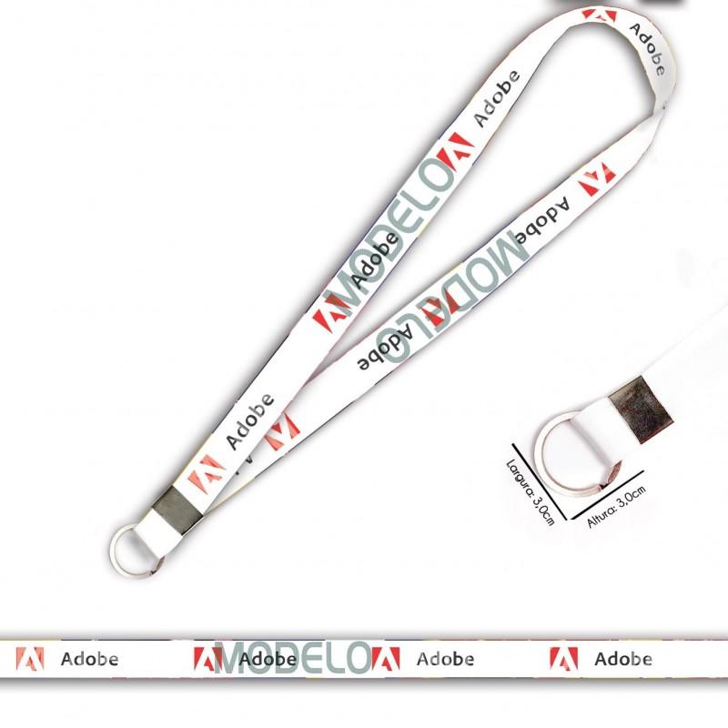 Cordão Adobe C0406P com Argola Italiana