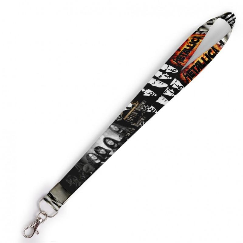 Cordão Metallica C0478P com Mosquete