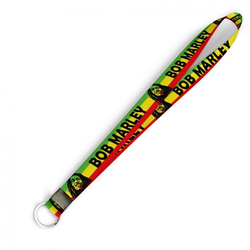 Cordão Bob Marley C0487P com Argola Italiana